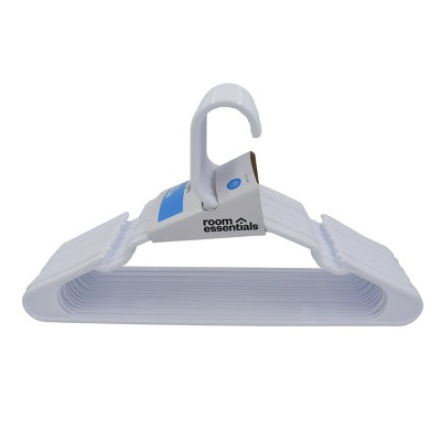 18pk Hangers White - Room Essentials™
