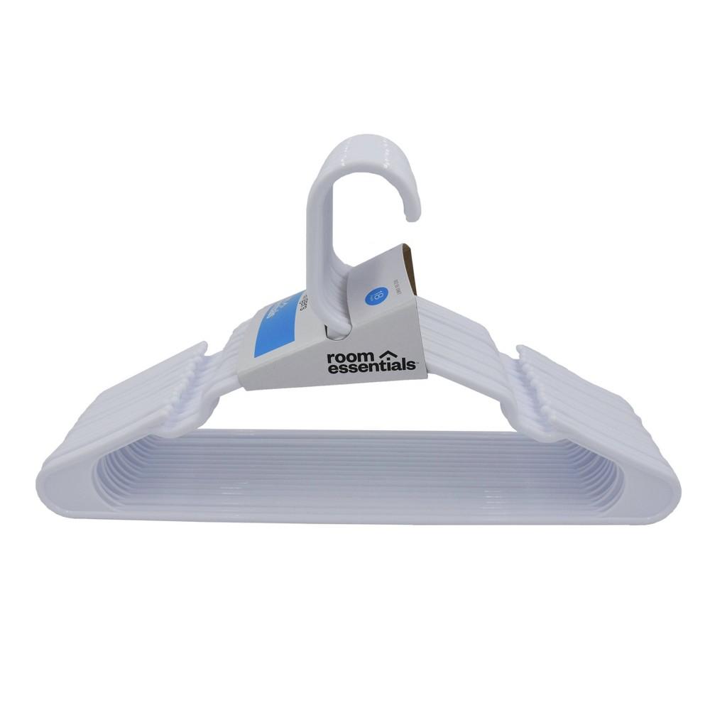 Image of 18pk Hangers White - Room Essentials