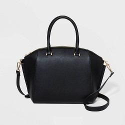 Structured Wing Satchel Handbag - A New Day™