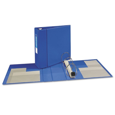 "Avery Heavy-Duty Binder with One Touch EZD Rings 11 x 8 1/2 4"" Capacity Blue 79884 - image 1 of 4"