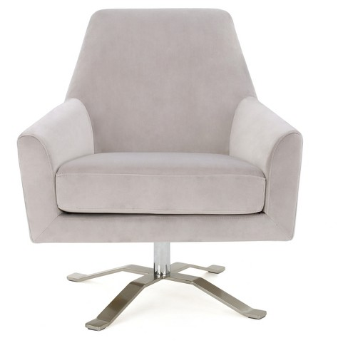 Ailis Club Chair - Light Gray - Christopher Knight Home - image 1 of 4