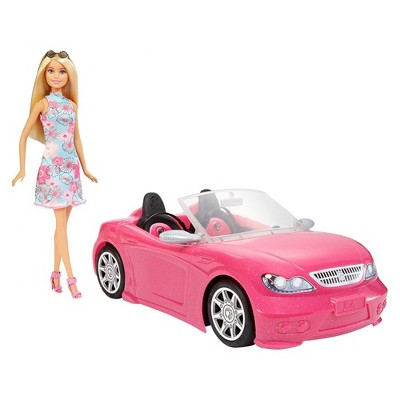 Barbie Doll & Convertible Car - Blonde