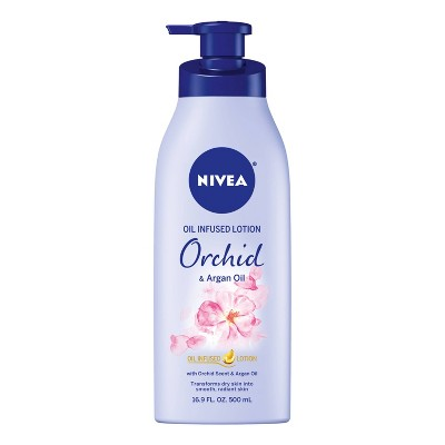 NIVEA Orchid and Argan Oil Infused Body Lotion - 16.9 fl oz