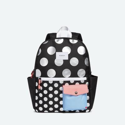 STATE Bags 15'' Kids' Metallic Backpack - Dots