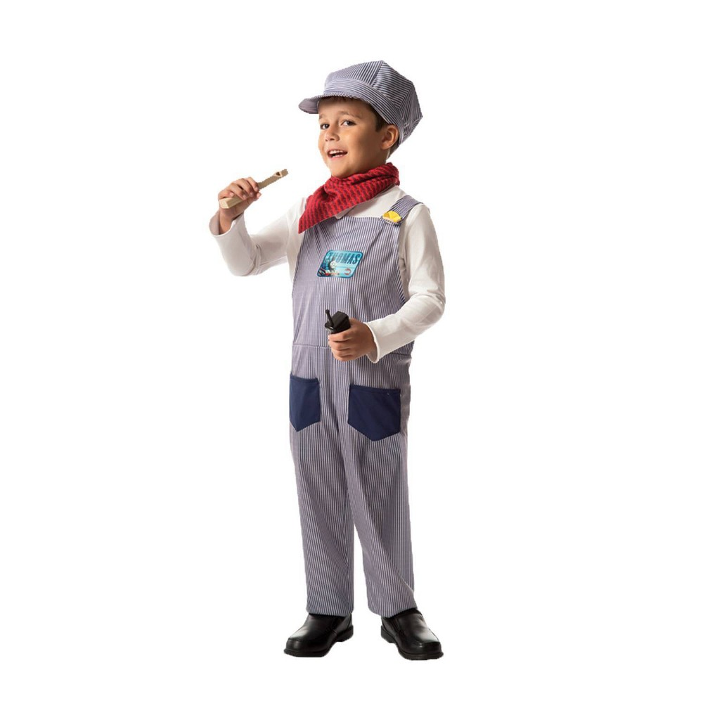 Image of Halloween Boys' Thomas Tank Conductor Play Costume Set, Boy's, Size: Small, MultiColored