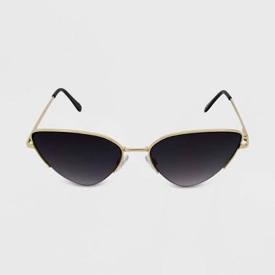 Women's Retro Cateye Sunglasses - Wild Fable™ Gold