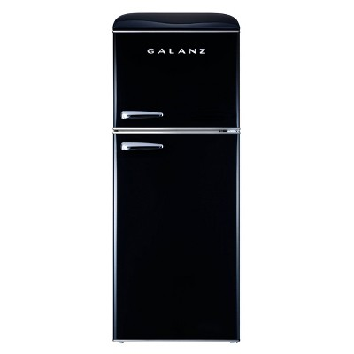 Galanz 4.6 cu ft True Freezer Dual-Door Refrigerator