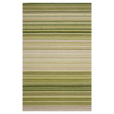 Green Stripe Woven Area Rug - (5'X8')- Safavieh®