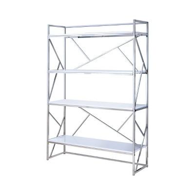 "70.25"" Netherton Contemporary Open Shelves Bookcase - HOMES: Inside + Out"