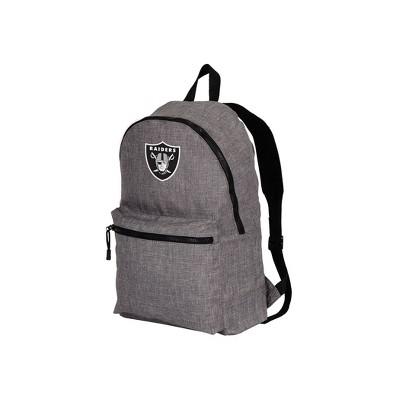 Nfl Raiders Tandem Backpack Heathered Gray Brickseek