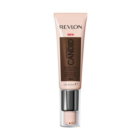 Revlon PhotoReady Candid Natural Finish, Anti-Pollution Foundation - Deep/Tan Shades - 0.75 fl oz - image 1 of 4