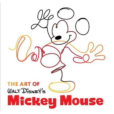 The Art of Walt Disney's Mickey Mouse - (Disney Editions Deluxe) by  Jessica Ward (Hardcover)