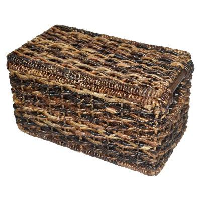 Banana Leaf Wicker Storage Basket - Natures Brown - Threshold™