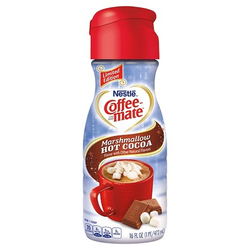 Nestle Coffee-Mate Marshmallow Hot Cocoa Coffee Creamer - 16 fl oz - image 1 of 1