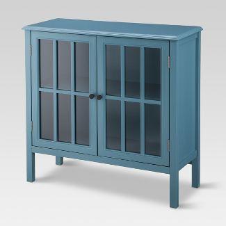 Windham 2 Door Accent Cabinet Teal - Threshold™