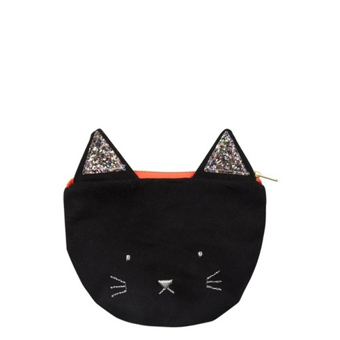 Meri Meri - Black Cat Purse - Handbags - 1ct - image 1 of 1