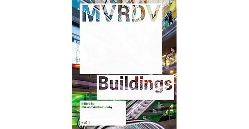 MVRDV Buildings (Updated) (Hardcover) - image 1 of 1