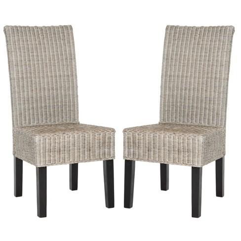 Arjun Wicker Dining Chair (Set of 2) - Safavieh® - image 1 of 4