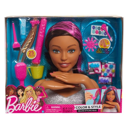 Barbie Color Style Deluxe Styling Head