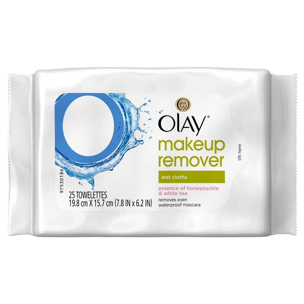 Olay Makeup Remover Wet Cloths - 25 ct