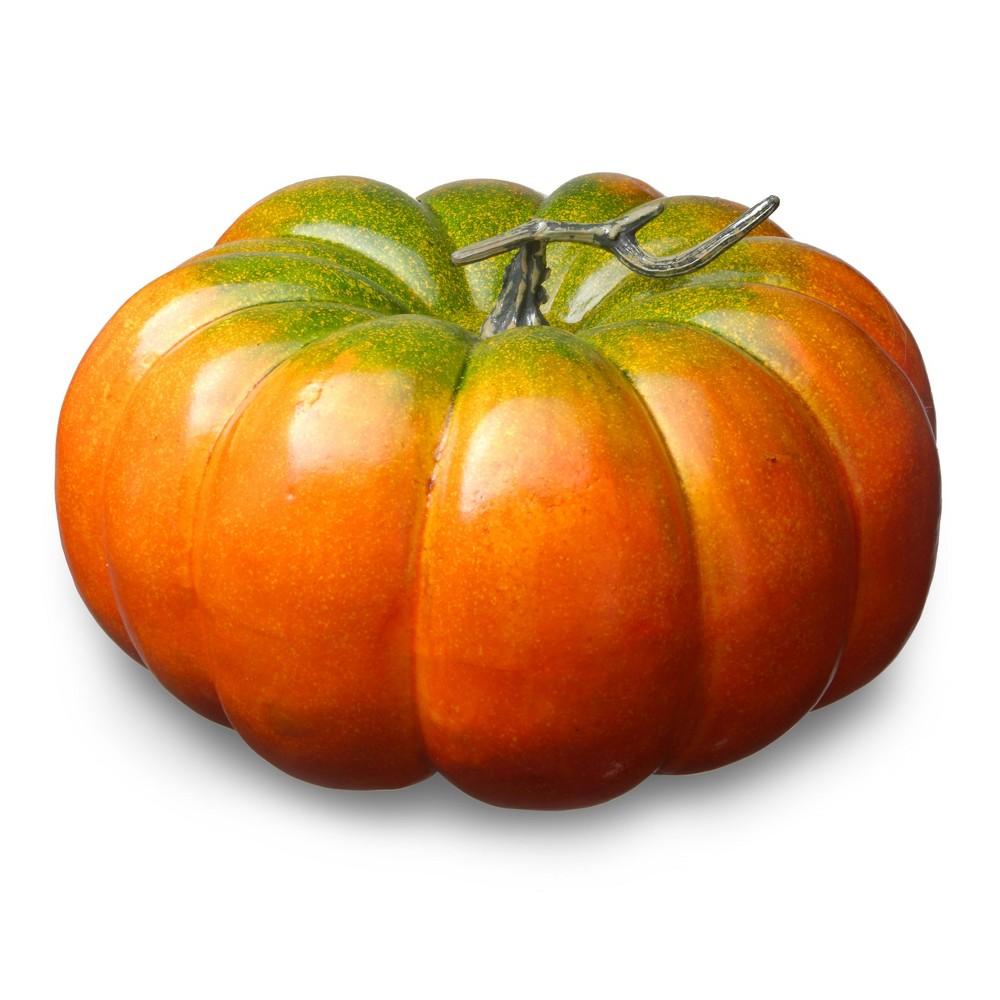 Image of 15 Pumpkin Decor - National Tree Company, Orange Dream