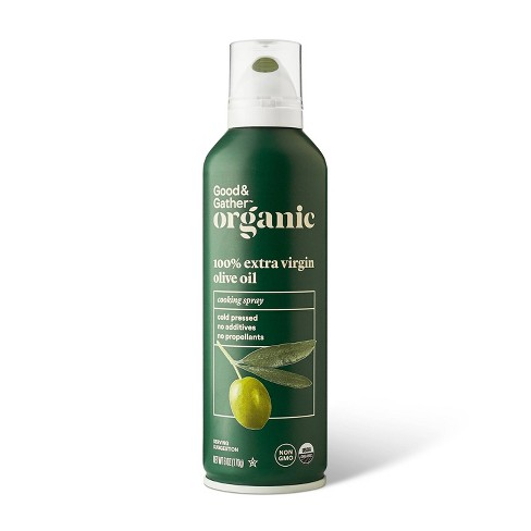 Organic 100% Extra Virgin Olive Oil Cooking Spray - 6oz - Good & Gather™ - image 1 of 2