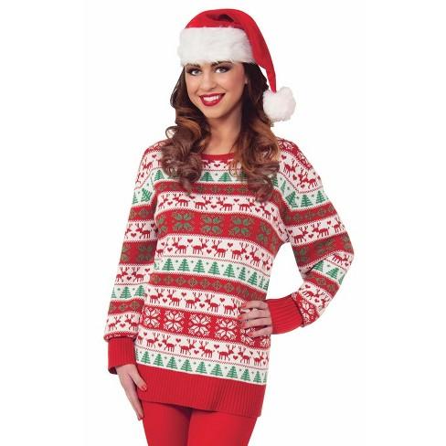Forum Novelties Winter Wonderland Sweater Adult Costume - image 1 of 2