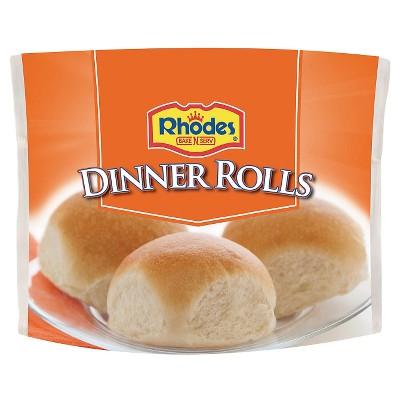 Rhodes Frozen Dinner Rolls - 48oz/20ct