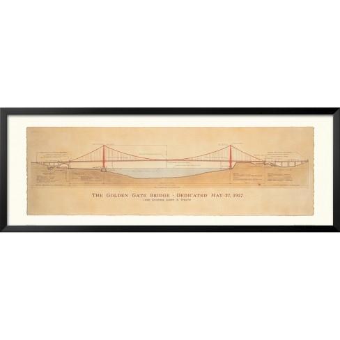 Art.com - Golden Gate Bridge Framed Art Print - image 1 of 2