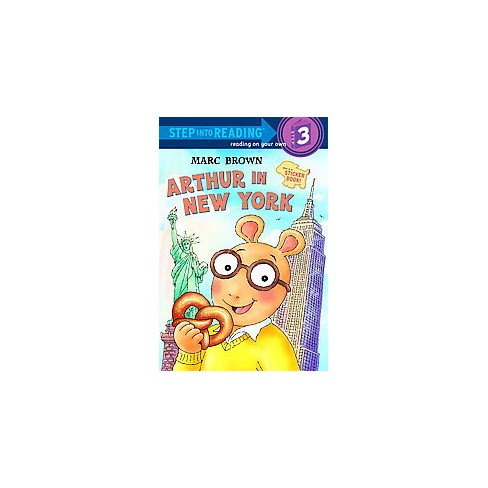 Arthur in New York - (Step Into Reading) by  Marc Brown (Paperback) - image 1 of 1