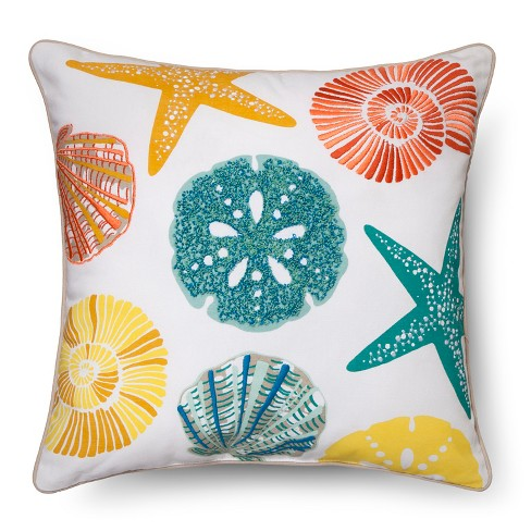 Shell Throw Pillow - Threshold™ - image 1 of 2