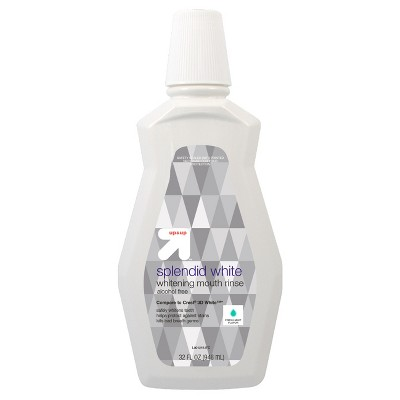 Whitening Fresh Mint Mouth Rinse - 32oz - up & up™