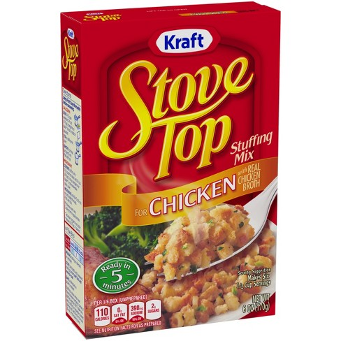 Stove Top Stuffing Mix For Chicken 6oz - image 1 of 3