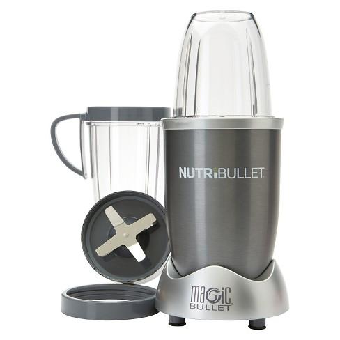 45ebcdc10a NutriBullet By Magic Bullet 8pc - Silver NBR-0801 : Target