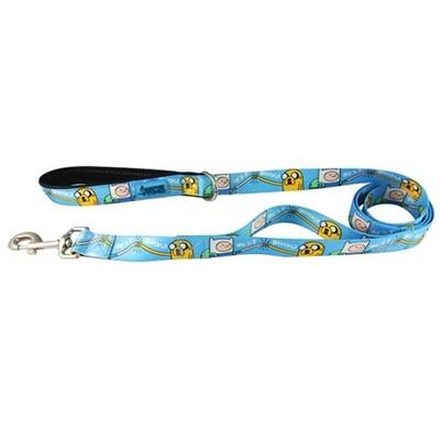 "Crowded Coop, LLC Adventure Time ""Best Bros!"" 5' Pet Leash"