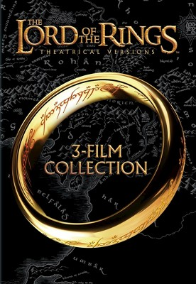 The Lord of the Rings: 3-Film Collection [Theatrical Versions] [3 Discs]