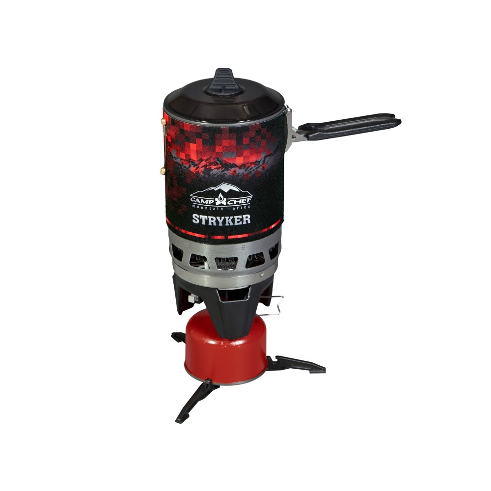 Image of Camp Chef Mountain Series Isobutane Stryker Stove - Black