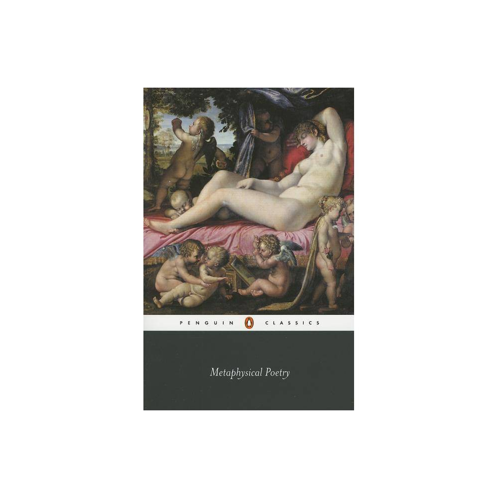 Metaphysical Poetry Penguin Classics Annotated By Various Paperback