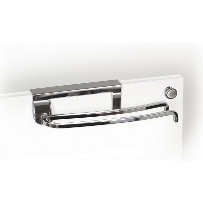 Lynk Professional Over Cabinet Door Pivoting Towel Bar Chrome
