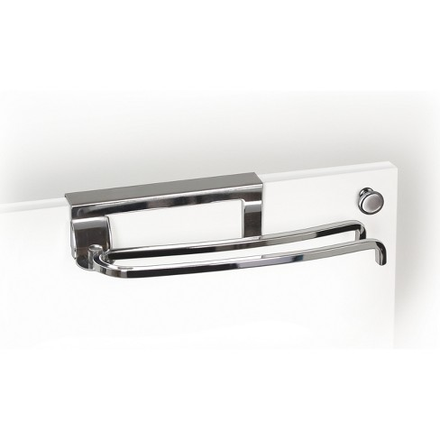 Lynk Professional Over Cabinet Door Pivoting Towel Bar Chrome Target