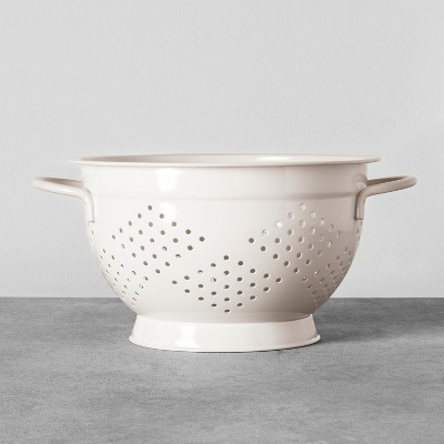Steel Colander Cream - Hearth & Hand™ with Magnolia