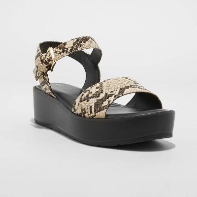 Women's Ivy Platform Sandals - A New Day™