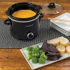 Crock-Pot 2qt Slow Cooker Black SCR200 - image 3 of 4