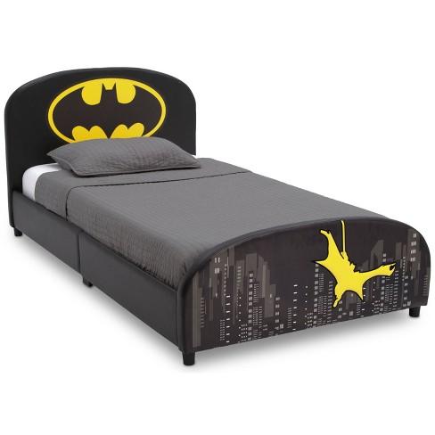 Twin Batman Upholstered Bed - Delta Children - image 1 of 4