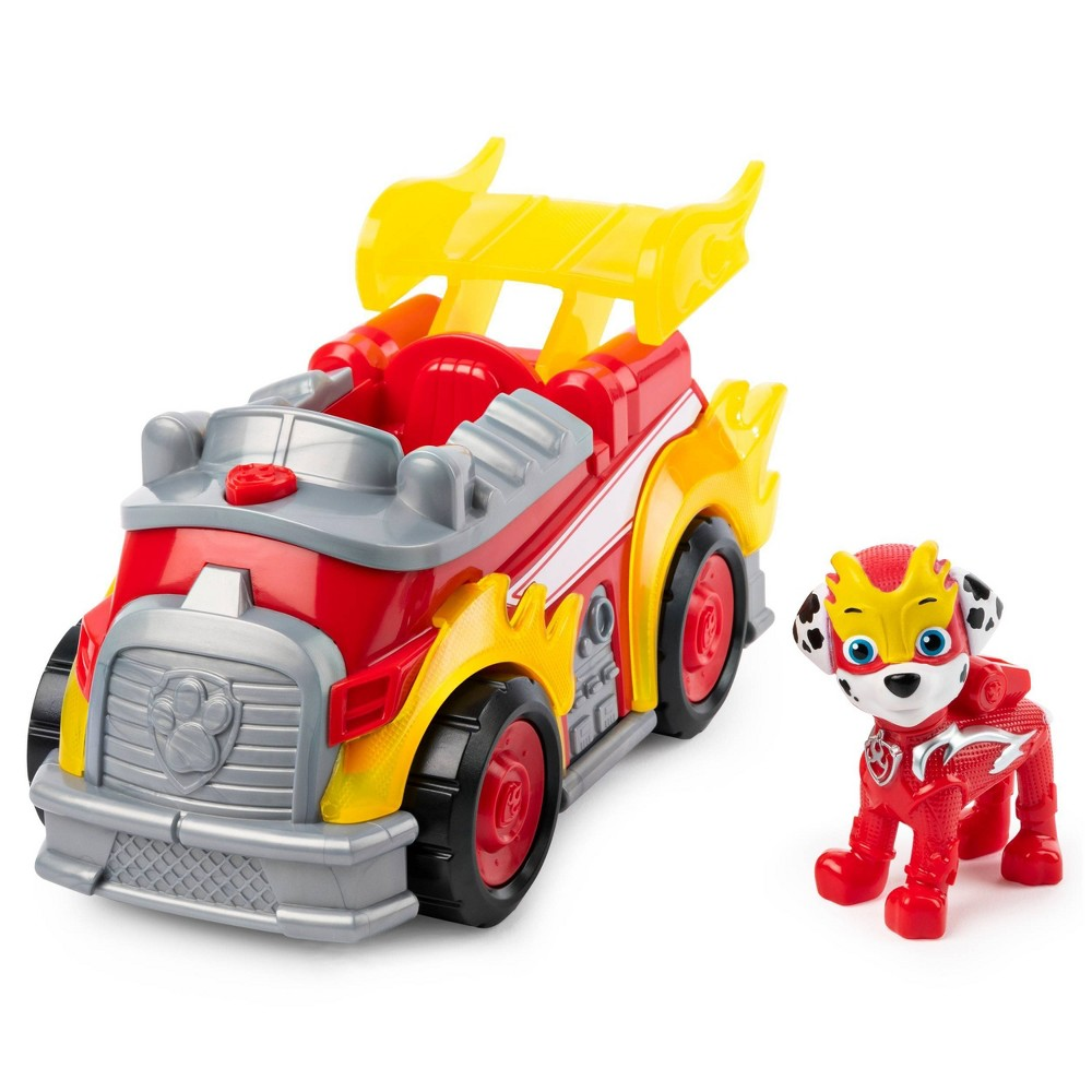 PAW Patrol Mighty Pups Super Deluxe Vehicle - Marshall was $14.49 now $10.14 (30.0% off)