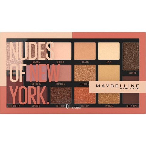 Maybelline Nudes Of New York Eyeshadow Palette - 0.634oz - image 1 of 4