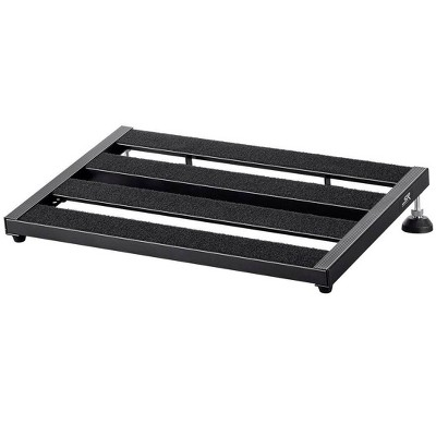 Monoprice SPB-50 Guitar Pedal Board with Adjustable Height and Carry Bag, Lightweight, Durable Aluminum Construction - Large - Stage Right Series