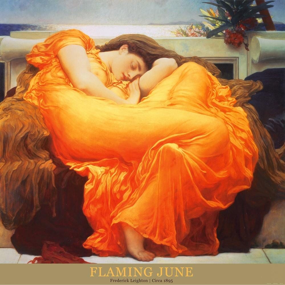 Art.com - Flaming June c.1895 Art Print