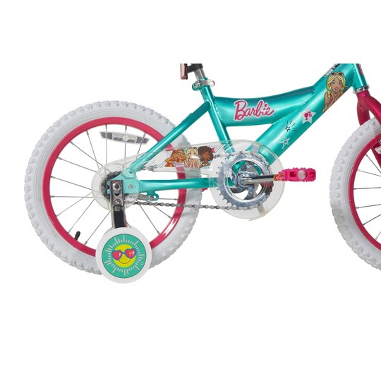 """Barbie 16"""" Bike with Ride With Me Minibike - Teal image number null"""
