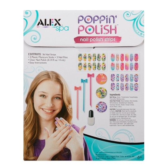 Alex Spa Poppin' Polish Nail Strips image number null